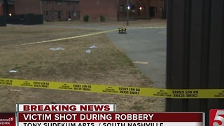 1 Injured In Shooting, Found With Drugs - Video