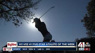 Notre Dame de Sion Girls Golf Star Megan Propeck is Hy-Vee Athlete of the Week - Video