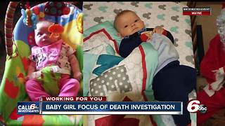 Toddler's death under investigation in Martinsville