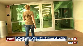 Aid groups reach out to help homeless veterans in Collier County