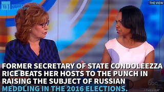 Condoleezza Rice: Questioning Election Gives Putin What He Wants