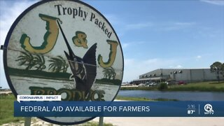 Federal aid now available for farmers
