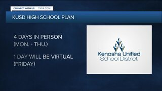 Kenosha schools reopening proposal includes 4-day week for high school students