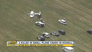 NTSB to investigate 2 killed in small plane crash in Howell