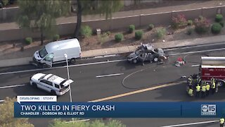 FD: Two people killed in crash near Dobson and Elliot in Chandler