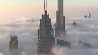 Intrepid photographer captures world's most luxurious high-rise apartments - Video