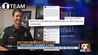 Caught lying, should an officer still serve WCPO Investigative Report - Video