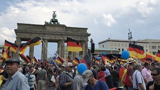 Alternative for Germany Supporters Rally in Berlin - Video