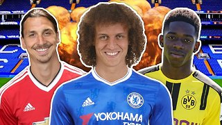 David Luiz RETURNS To Chelsea For €40M! | W&L Round-Up - Video