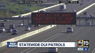 Police stepping up traffic patrol across Valley for holiday weekend