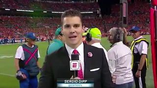 New Monday Night Football Reporter Gets ROASTED After Massive Brain Fart - Video
