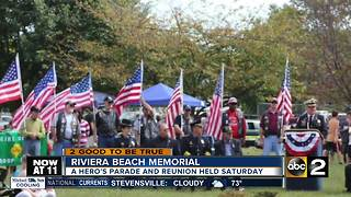 Riviera Beach hosting Hero's Parade - Video