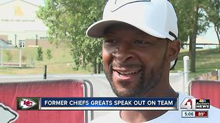Alumni talk first preseason game at Chiefs Training Camp - Video