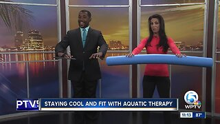 Staying cool and fit with aquatic therapy