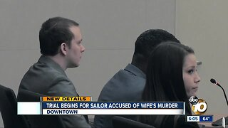 Trial begins for ex-sailor accused of wife's murder