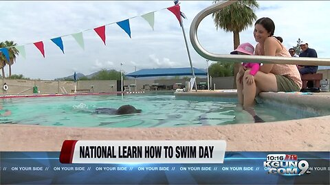 National learn how to swim day