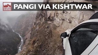 Friends Undertake Treacherous Road Trip Along Mountainous Indian Roads - Video