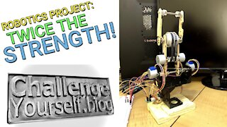 Robotics: Robot Arm is Now Twice as Strong!