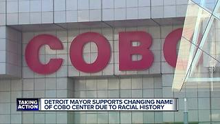Detroit Mayor Mike Duggan Supports Cobo Hall Name Change - Video
