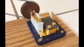 Live Steam Powered Music Box