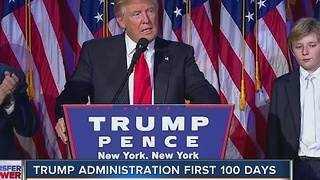 Trump administration first 100 days