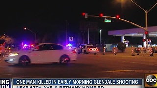 PD: 1 dead, 1 wounded after shooting in Glendale - Video