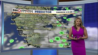 Tropical Moisture Keeping Rain Chances High - Video