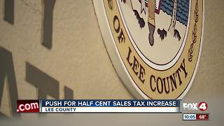 Lee County School Board moves forward with half penny sales tax increase referendum - Video