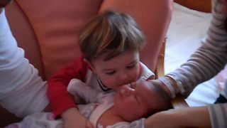 Little Boy Is The Greatest Big Brother Ever - Video