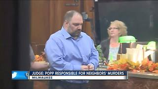 Milwaukee man found responsible for triple homicide - Video