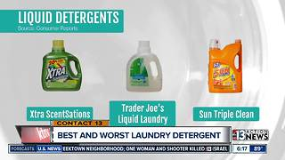 Best and worst laundry detergent - Video