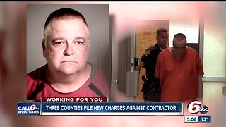 CALL 6: Three prosecutors file charges against contractor following Call 6 report - Video