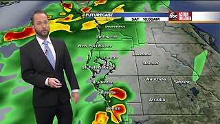 Florida's Most Accurate Forecast with Jason on Saturday, August 17, 2019