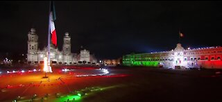 Mexico's Independence Day celebration goes crowdless