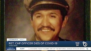 Retired CHP officer dies from COVID-19