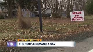 Green residents file petition against NEXUS pipeline as work begins - Video