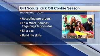Girl Scouts of Southeastern Michigan begin Girl Scout Cookies sales