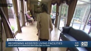 Reopening assisted living facilities in Arizona