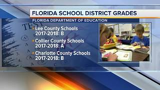 Florida school grades for 2017-18 released - Video