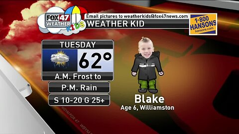 Weather Kid - Blake