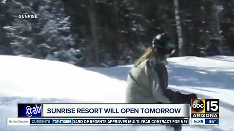 Open or closed? Mixed messages from Sunrise Ski Park Resort