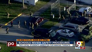 Rash of local school threats in wake of Florida shooting - Video