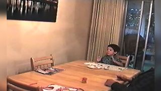 Boy Amazed By Grandpa's Magic Tricks - Video