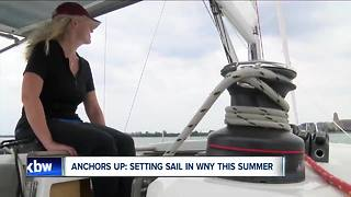The WNY couple that wants landlubbers on their sailboat - Video