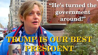 Americans Say! He's Turned The Government Around | Washington DC | 2020-12-12