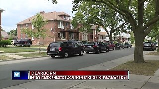 Dearborn police investigating death of 26-year-old Marine City man