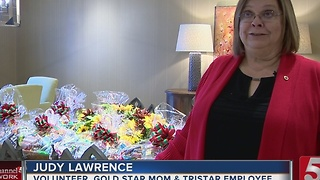 Local Mom Supports Troops During Holidays - Video