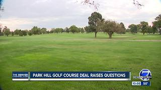 Denver council asks questions about sale of Park Hill Golf Course - Video