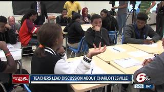 Teachers lead discussion about Charlottesville - Video