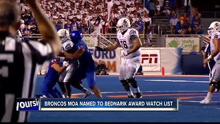 Moa named to Bednarik Watch List